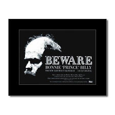 BONNIE PRINCE BILLY - Beware Matted Mini Poster