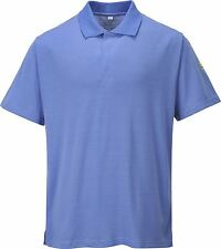 Portwest Anti-Static ESD Polo Shirt Top workwear AS21