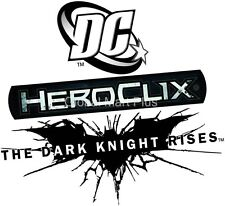 HeroClix The Dark Knight Rises Miniatures Figurines Game Piece DC Comics Wizkids
