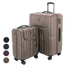 Havel 2er Koffer-Set Trolley-Set Rollkoffer Reisekoffer TSA S L