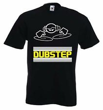 DUBSTEP DJ T-SHIRT - Dub Step Rave Drum & Bass Techno - Colour Choice, S to 3XL
