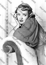 Bette Davis Lovely 40's Hollywood Vintage Pin-up Movie Star Photograph re-print