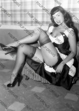 Bettie Page Fab Vintage Cult Pin-up Burlesque Rockabilly Photograph re-print