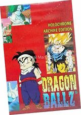 Dragonball Z Holochrome Archive Edition Base Sticker Parallel Ripple Card Single