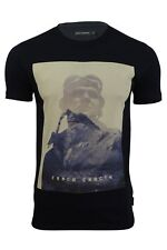 Mens T-Shirt 'Explorer' by FCUK/French Connection Short Sleeved