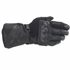 Alpinestars Motorcycle / Motorbike Apex Drystar Black Waterproof Gloves