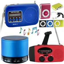 Mini USB Portatile Radio FM Altoparlante Lettore Musicale SD/TF Card per PC iPod