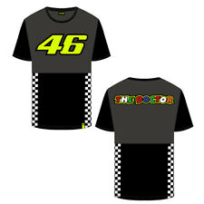 VR46 Monster Energy Monza Black Valentino Rossi T-Shirt Casual Top 114604