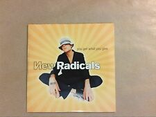 CD 2 TITRES / NEW RADICALS / YOU GET WHAT YOU GIVE / NEUF SOUS CELLO