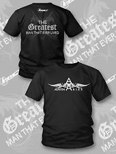 TNA IMPACT WRESTLING AUSTIN ARIES The Greatest Man That Ever Lived Wings T-SHIRT