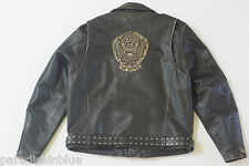 Harley Davidson Mens CYCLE CHAMP II 2 D-Pocket Leather Jacket Snakeskin 2XL Rare