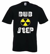 DUBSTEP TOXIC SYMBOL T-SHIRT - Dub Step Rave Drum & Bass Techno - S to 3XL