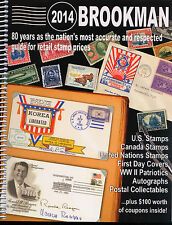 Brookman 2014 Price Guide for USA Canada United Nations Stamps & Covers -REDUCED