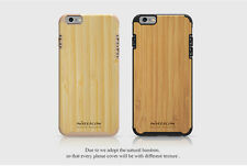 NILLKIN Knights Bamboo Natural Texture Back Cover Case for Apple iPhone 6 / 6S