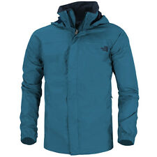 The North Face Uomo Resolve Giacca blue T0AR9TM19 Outdoor Pioggia a vento