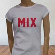 Mix and Master Audio Engineer Producer Artist EDM Womens White T-Shirt