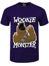 Wookie Monster Männer T-Shirt lila