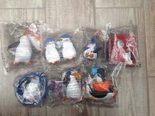 mcdonalds Penguins Of Madagascar Toys Figures Job Lot In Packets New X 7