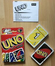 Uno Card Game Mattel         NEW SEALED.