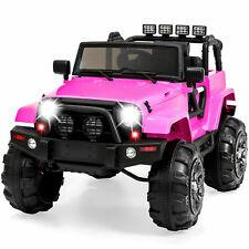 Best Choice Products 12V Ride On Car Truck Remote Control 3 Speed LED Light Pink