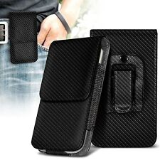 Belt Clip Pouch Holster Vertical Magnetic Phone Case Cover Holder✔Huawei Ascend