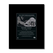 NEW PORNOGRAPHERS - Electric Version Matted Mini Poster