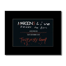 MAROON 5 - Live - Friday the 13th Matted Mini Poster