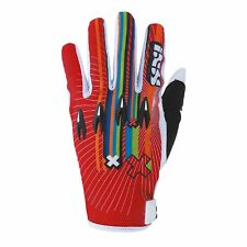 IXS 43307 MX Guanti Guanti da Cross Fuoristrada Trial Quad Cross RUSH rosso