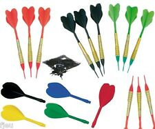 18 darts + tips 1/4 + fins for set dart electronic softip