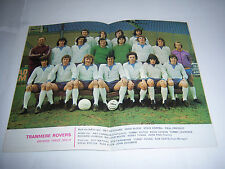 LEAGUE FOOTBALL (REVIEW) MAGAZINE 1973/74 #834 - TRANMERE ROVERS - CHECK VERSION