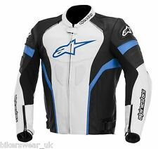 Alpinestars GP Plus R Blue Leather Motorcycle Jacket NEW !!!