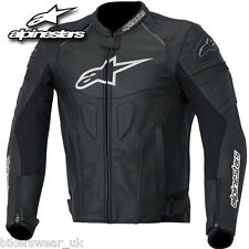 Alpinestars GP Plus R Black Leather Motorcycle Jacket NEW !!!