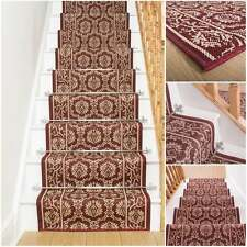 tapis chemin couloir long rouge mali cage escalier largeur 66 cm toute longueur ebay. Black Bedroom Furniture Sets. Home Design Ideas