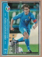 Football Card - 2002/03 Panini WCCF Italian World Cup Team #3 Fabio Cannavaro