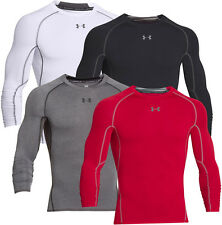 Under Armour Mens HeatGear Armour LS Compression Shirt