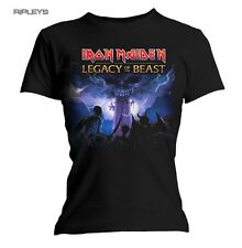 Official Ladies T Shirt Iron Maiden Metal ARMY Legacy of The Beast All Sizes