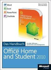 NEU * Rainer G Haselier * Microsoft Office Home and Student 2010 - Das Handbu...