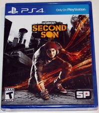 inFamous Second Son - PS4 Playstation 4 - NEW & SEALED