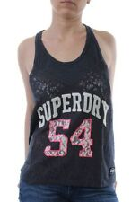 Superdry Tank Women ATHLETIC LACE Eclipse Navy
