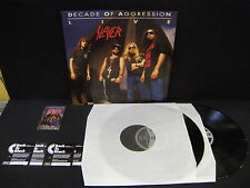 Slayer – Decade Of Aggression Live  ' LP MINT 180 GRMS 2013