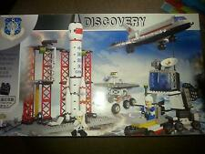 Space Rocket/Launch Pad/Moon Buggies/Shuttle/ Accessories.construction set,New