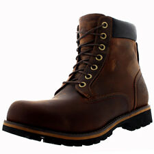 Mens Timberland Earthkeepers Rugged 6 Inch Plain Toe Leather Ankle Boots UK 7-13