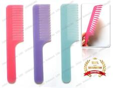 Wide Tooth Hair Comb Shower Rake Handle Jumbo Frosted Afro Comb Boots