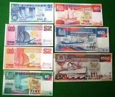 Old Paper Currency Notes from Singapore (Ship Series)