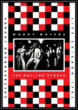 Muddy Waters & The Rolling Stones-Checkerboard Lounge: Live Chicago 1981DVD NEU!
