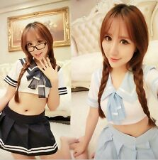 Sailor Uniform Cosplay Sexy Women Lingerie School Girl Sexy Anime Costume