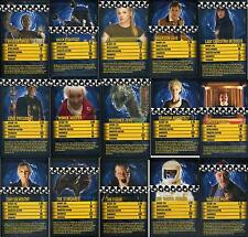 Doctor Who TOP TRUMPS SPECIALS Black (Set 4) (Assorted Cards)