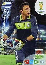 Panini adrenalyn world cup 2014Brazil-Mexico Uruguay Honduras Equador base cards