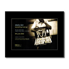 STEELY DAN - Everything Must Go Matted Mini Poster