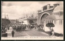 AK Lyon, Exposition Internationale 1914, Rue de Marseille, Pavillon de la Soier